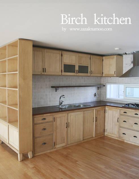 Birch kitchen: 자작나무 의  주방