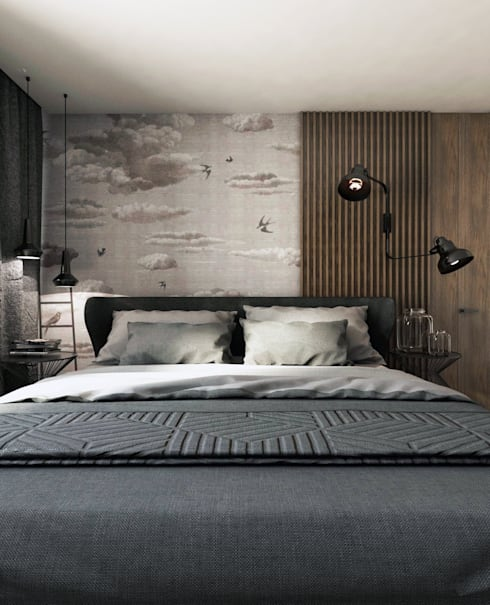 modern Bedroom by A2.STUDIO PRACOWNIA ARCHITEKTURY