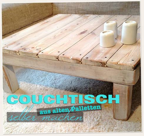 paletten couchtisch im wohnzimmer von lybstes homify. Black Bedroom Furniture Sets. Home Design Ideas