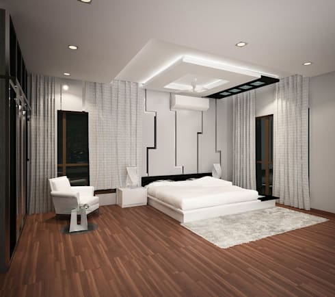 4 bedroom villa at prestige glenwood by ace interiors homify for Best interior designs for flats