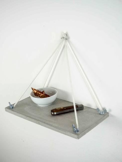 schl sselbrett aus beton by 10 knoten m beldesign. Black Bedroom Furniture Sets. Home Design Ideas