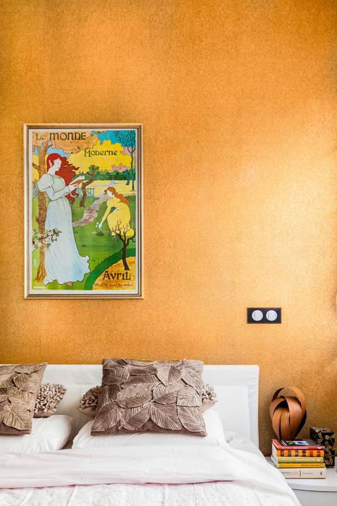 غرفة نوم تنفيذ Ayuko Studio