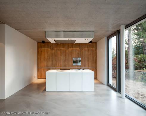 bauhaus bei blankenese von hgk hamburger grundstückskontor | homify - Küche Bauhaus
