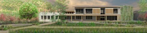 ----: Casas de estilo rural por Bravo design!