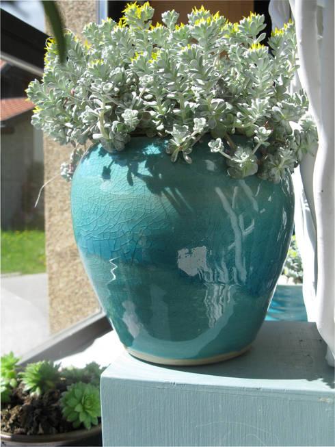 keramik f r pflanzen von bergdorf keramik homify. Black Bedroom Furniture Sets. Home Design Ideas