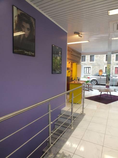 Métamorphose Salon De Coiffure aménagement d'un salon de coiffure - metamorphosehom(m)edesign