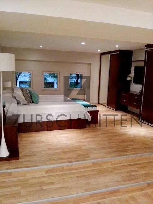 Dormitorios: Dormitorios de estilo moderno por Zurschmitten