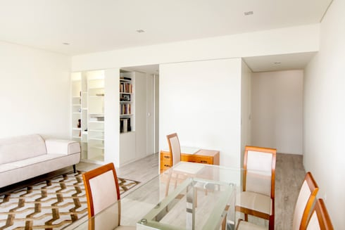 Sala: Salas de jantar modernas por Landmark Arquitectos