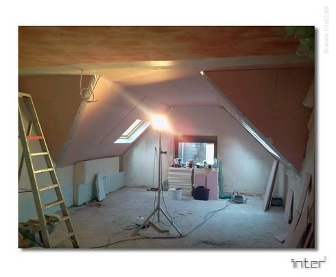 Am nagement d un loft sous les toits bruxelles von inter3 homify - Amenagement d un loft ...
