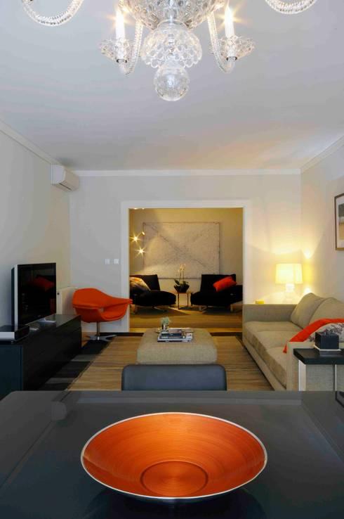 Espaço de Lazer: Salas de estar modernas por armazem de arquitectura