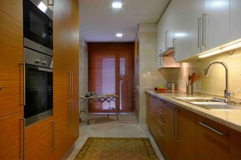 Cozinha : Cozinhas modernas por armazem de arquitectura