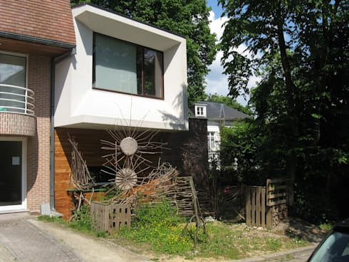 Maison basse énergie Bruxelles par Metaforma Architettura   homify