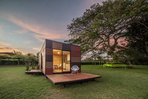 VIMOB: Casas de estilo moderno por COLECTIVO CREATIVO