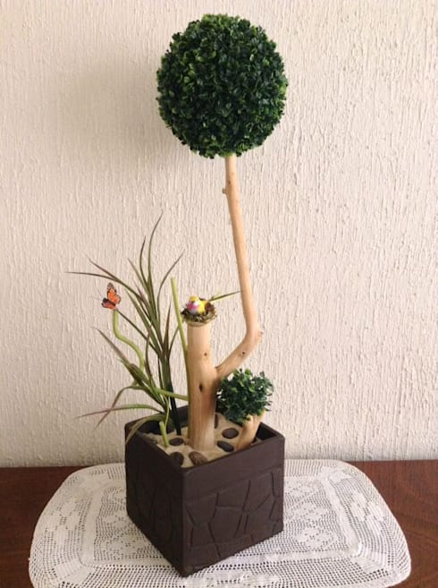 Decoraci n con bonsais para el hogar u oficina by villa for Decoracion oficina