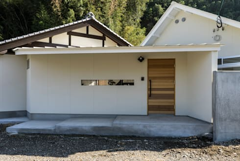 陶芸家と料理家のいえ(gallery SARAYAMA): 一級建築士事務所たかせaoが手掛けた家です。