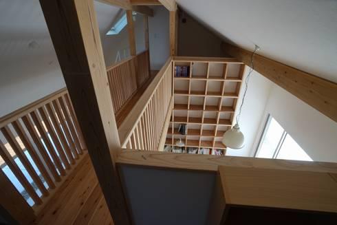 陶芸家と料理家のいえ(gallery SARAYAMA): 一級建築士事務所たかせaoが手掛けた子供部屋です。