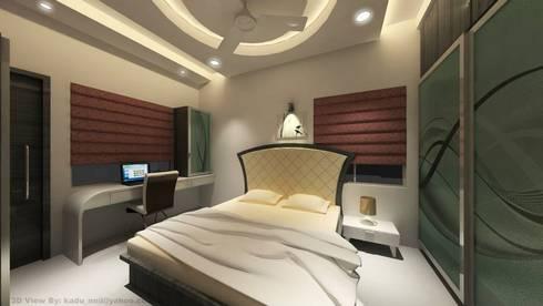 Interiors: modern Bedroom by MAVERICK Architects