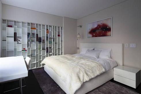 Dormitorio: Cuartos de estilo  por Sanchez + Sanchez Proyectos