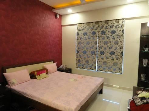 Amanora: modern Bedroom by MAVERICK Architects