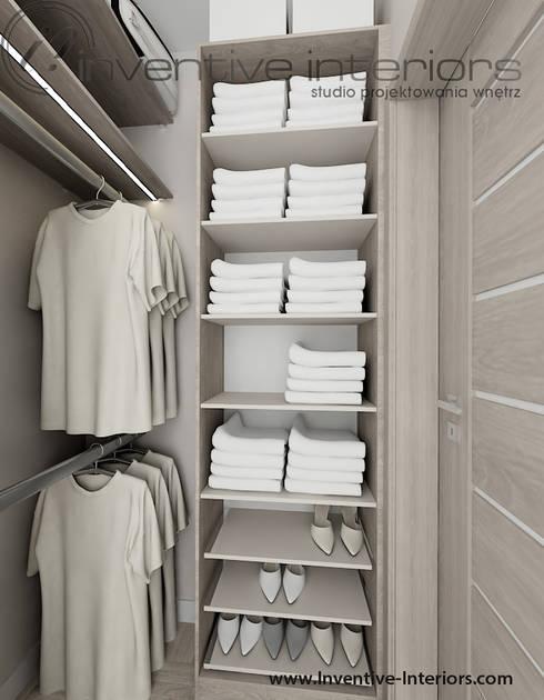 Vestidores de estilo moderno por Inventive Interiors