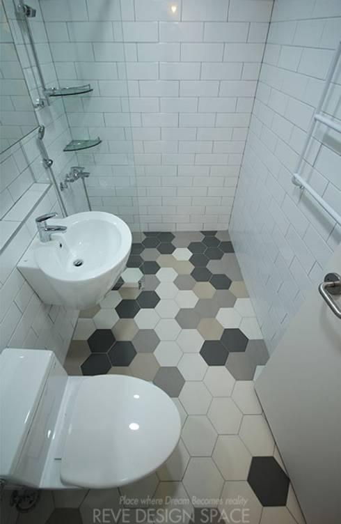 Bathroom by 디자인스튜디오 레브