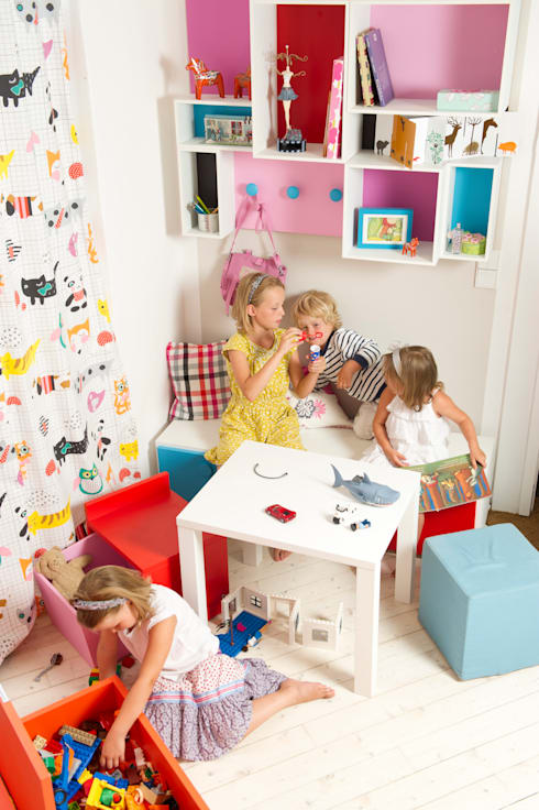 Nursery/kid's room تنفيذ MOBIMIO - Räume für Kinder
