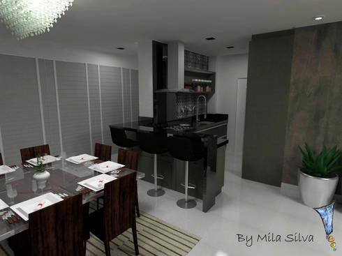 Cozinha: Cozinha  por Uma idéia confortável