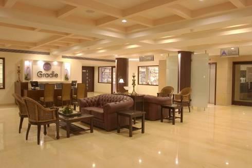 Interior: modern Living room by Design Paradise Associates Pvt. Ltd.