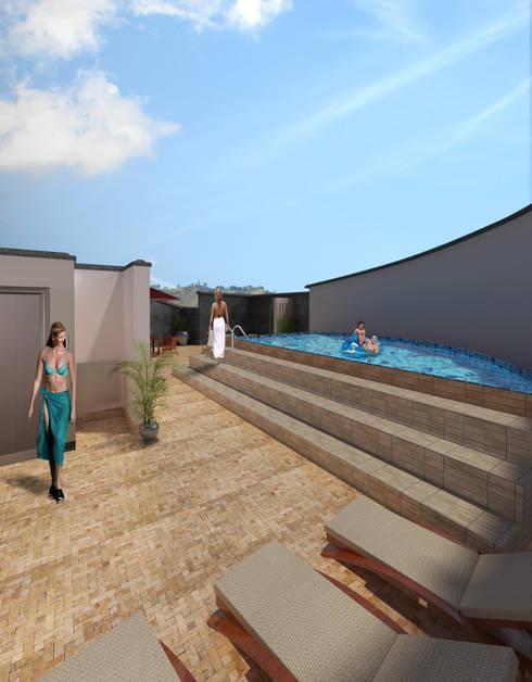 TORRE DUBAI:  de estilo  por CREAR VISUAL