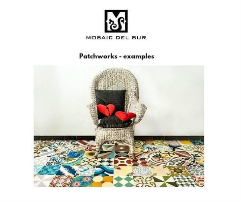 patchworks para todos os gostos de mosaic del sur homify. Black Bedroom Furniture Sets. Home Design Ideas