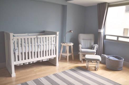 Cuarto Javier: Habitaciones infantiles de estilo  por CuboB Arquitectura de Interiores