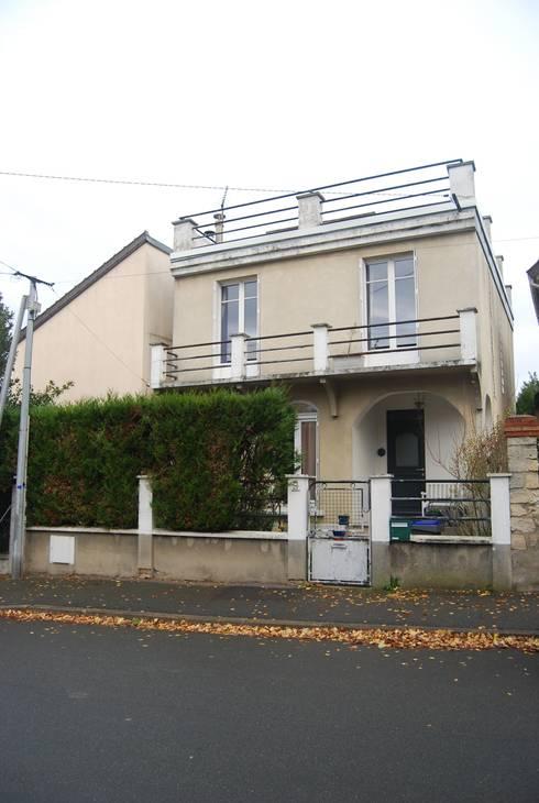 R novation et agrandissement d 39 une maison individuelle by for Agrandissement d une maison