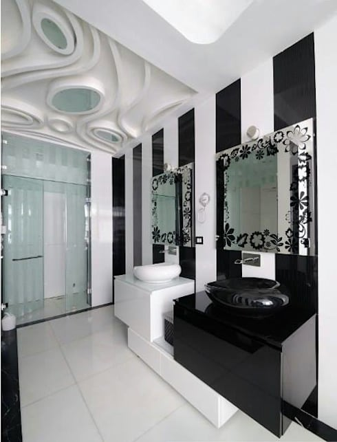 JAIPUR HOUSE: modern Bathroom by Spaces Architects@ka