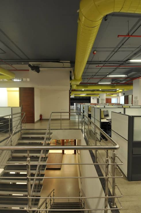 Aranca Mumbai Pvt.Ltd.: modern Study/office by 3D Architecture Pvt.Ltd.