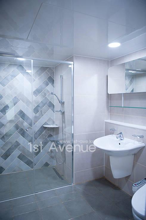 내 아이를 위한 센스있는 고집: 퍼스트애비뉴의  욕실