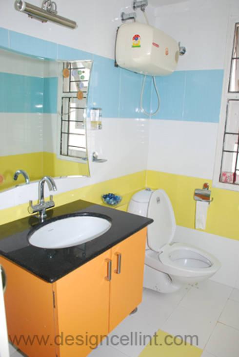 Bathroom designs: modern Bathroom by Design Cell Int