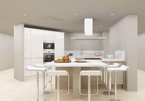KITCHEN Designs: modern Kitchen by DecMore Interiors