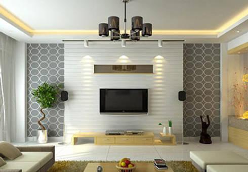 LIVINGROOm designs: modern Living room by DecMore Interiors