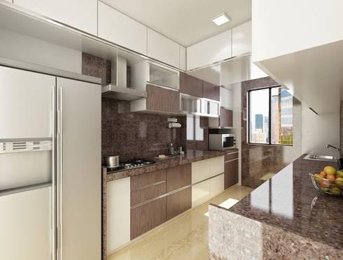Kher: modern Kitchen by suneil