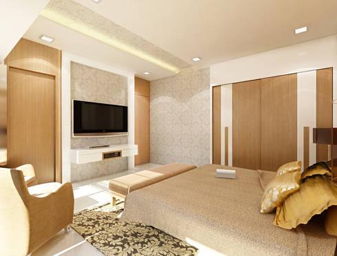 Kher: modern Bedroom by suneil