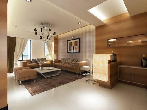 Kher: modern Living room by suneil