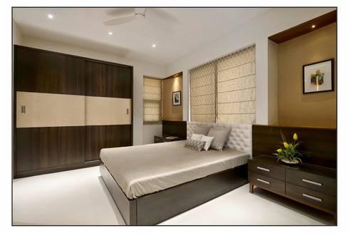 BEDROOM Designs: modern Bedroom by Artek-Architects & Interior Designers