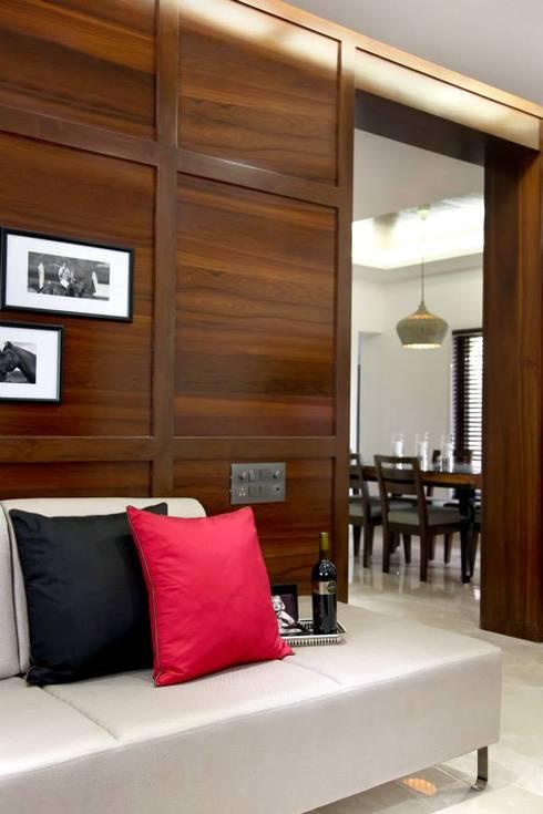 Sandeep Gandhi Bungalow: modern Bedroom by P & D Associates