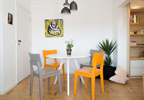 Sala: Salas de jantar modernas por INÁ Arquitetura