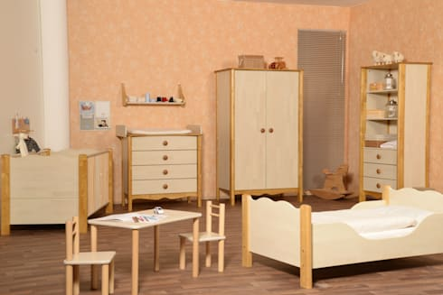 kinderzimmer nostalgie im landhausstil von taube kinder. Black Bedroom Furniture Sets. Home Design Ideas