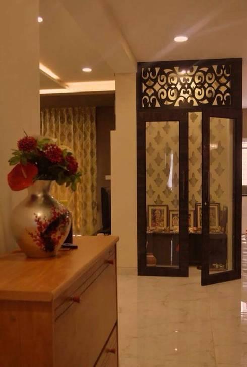 Interiors: modern Living room by Livin interiors