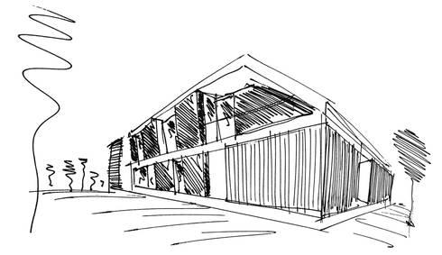 Shelf House: Casas minimalistas por MUTANT architecture & design