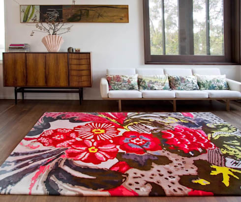 Eye-Catching Rugs:  Walls & flooring by My Decorative