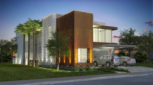 Casa JL: Casas modernas por Renata Matos Arquitetura & Business