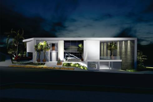 Casa CL: Casas modernas por Renata Matos Arquitetura & Business